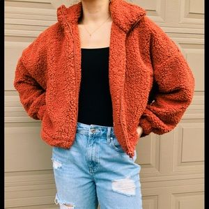 Urban Outfitters fuzy Jacket